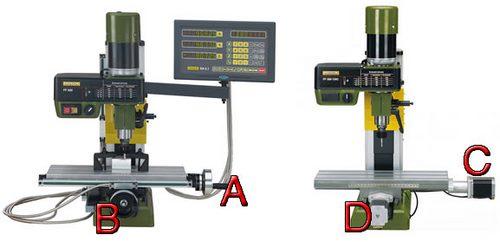 ماشین ابزارهای دقیق با استفاده از موتور پله ای