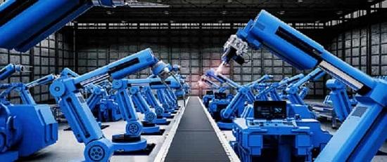 ماشین آلات صنعتی و ربات ها