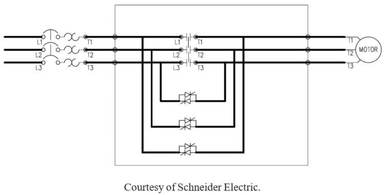 استارت ولتاژ کاهش یافته با اتصال کوتاه داخلی