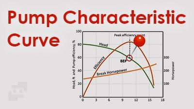 منحنی مشخصه پمپ