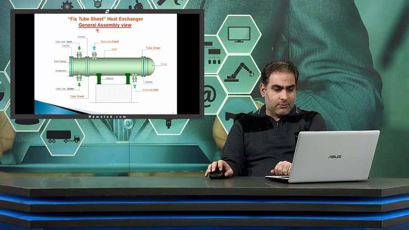 آموزش طراحی مبدل های حرارتی (3)