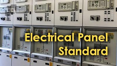 استاندارد های تابلو برق