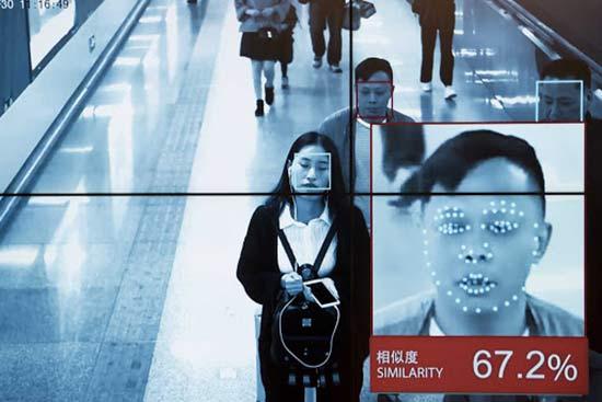 دوربین تشخیص چهره در فرودگاه