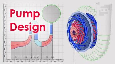 طراحی پمپ