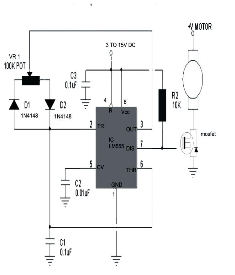 مزایای مدولاسیون پالس برای کنترل دور موتور DC