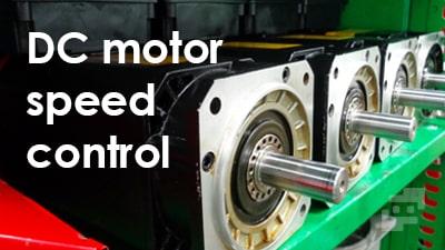 کنترل دور موتور DC