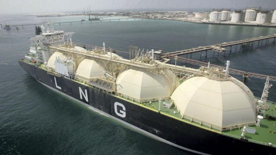 تجارت LNG