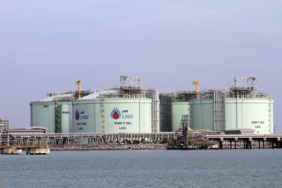 مخازن گاز طبیعی مایع
