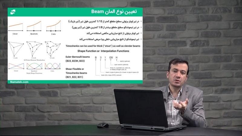آموزش طراحی و تحلیل مهندسی با آباکوس (4)