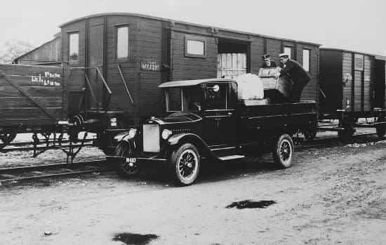 تاریخچه حمل و نقل