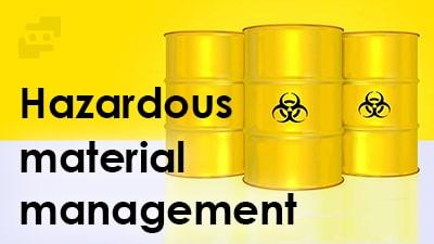 مدیریت مواد خطرناک