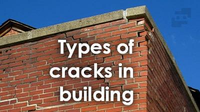 انواع ترک های ساختمانی