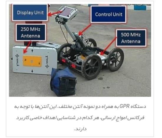 دستگاه GPR