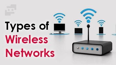 انواع شبکه بی سیم