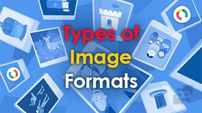 انواع فرمت های عکس