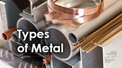 انواع فلز ها