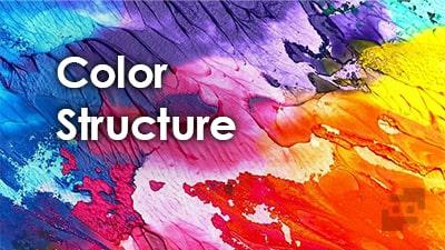 ساختار رنگ