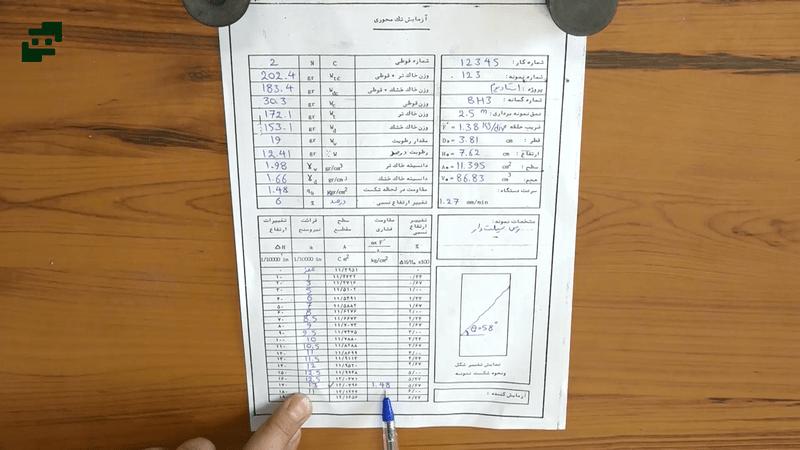آموزش آزمایش مکانیک خاک (5)