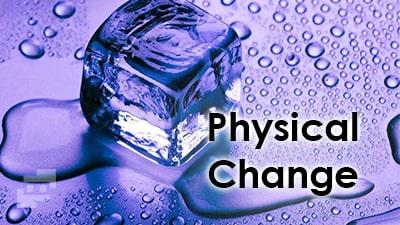 تغییرات فیزیکی
